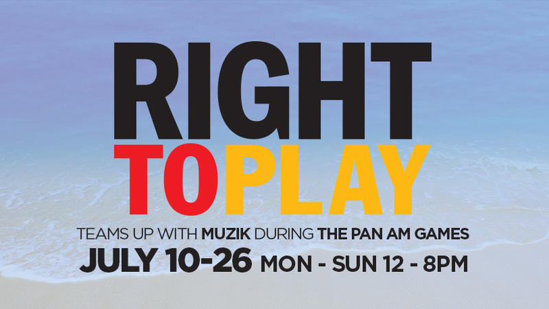 Right To Play during The Pan Am Games