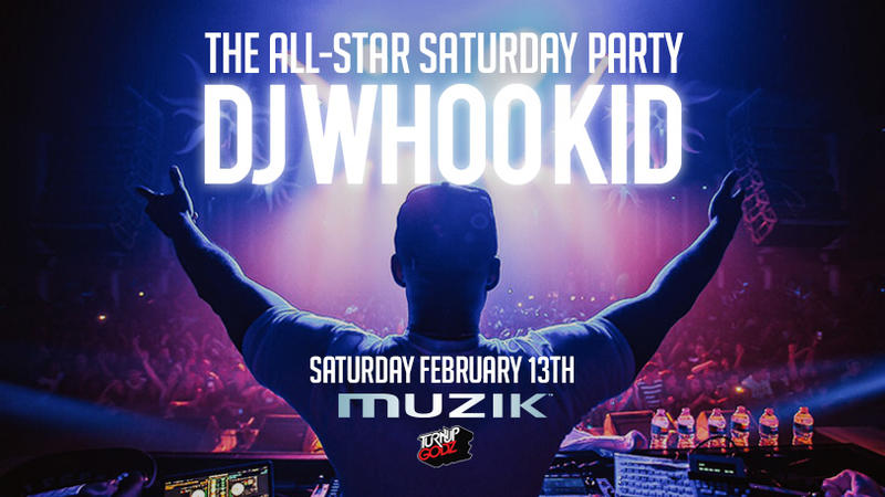 The All-Star Saturday Party with DJ Whookid